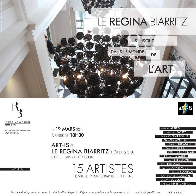 flyer hôtel Régina Biarritz