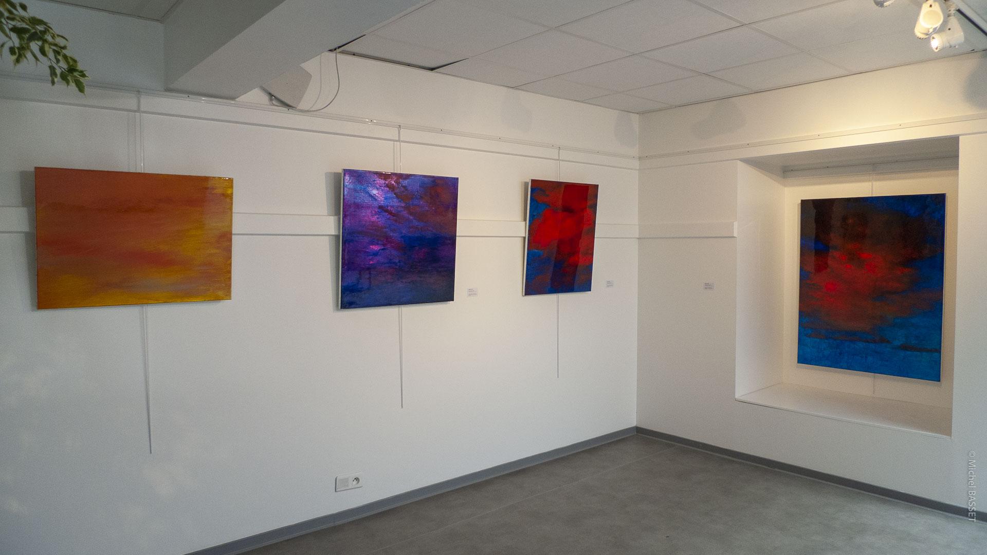 exposition Mendi Zolan Hendaye © Michel Basset