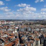 Bayonne - Par delà les flèches de la cathédrale