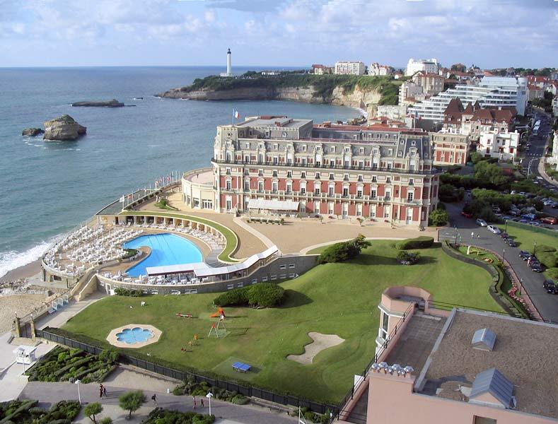 Biarritz - Hôtel du palais © Michel Basset