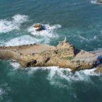Biarritz - Le rocher de la Vierge