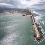 St Jean de Luz - Le fort et la digue de Socoa