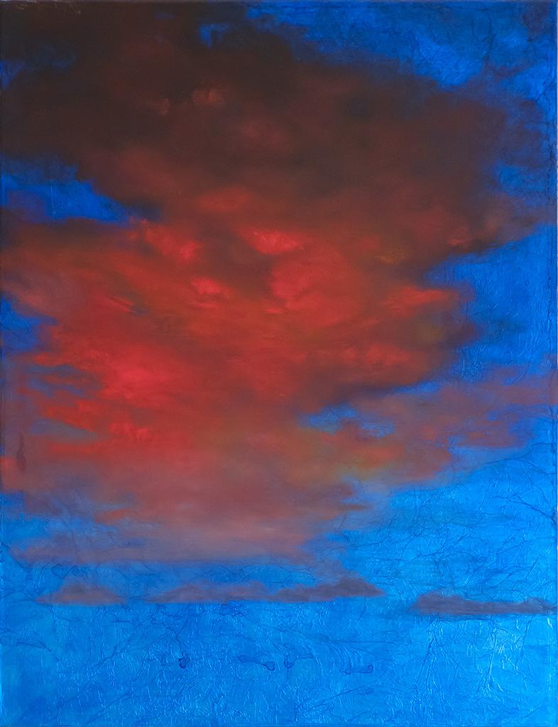 Contempory-Art, Crépuscule estival  © Michel Basset