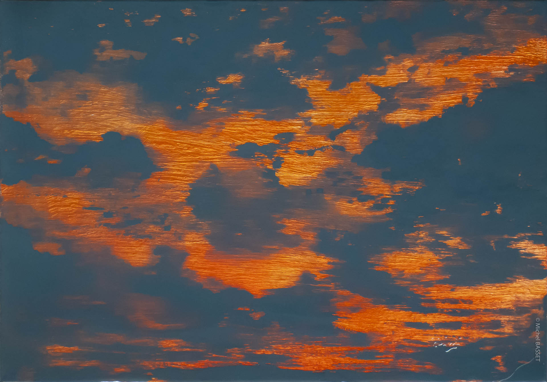 Contempory-Art, Horizon-céleste-14  © Michel Basset