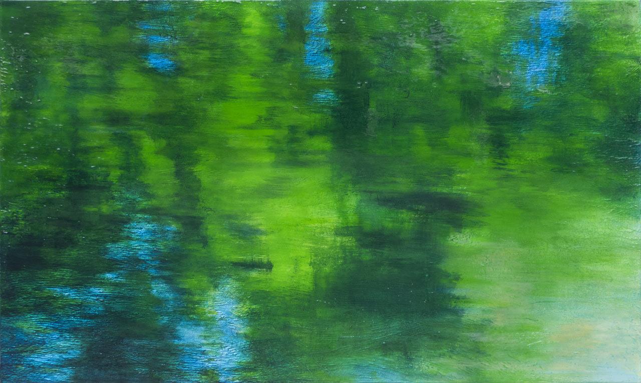 Contempory-Art, Reflets-dans-l'eau  © Michel Basset