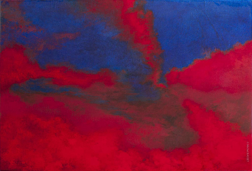 Contempory-Art, Tornade-rouge  © Michel Basset